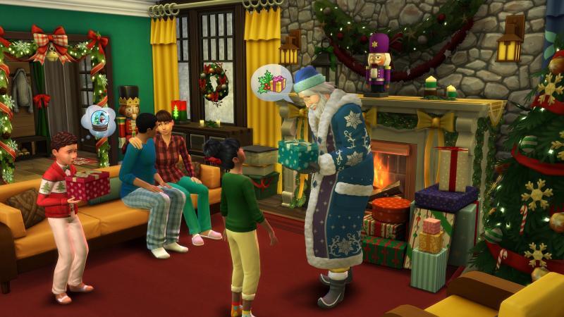 De Sims 4 Jaargetijden - Kerst (Foto: Electronic Arts)