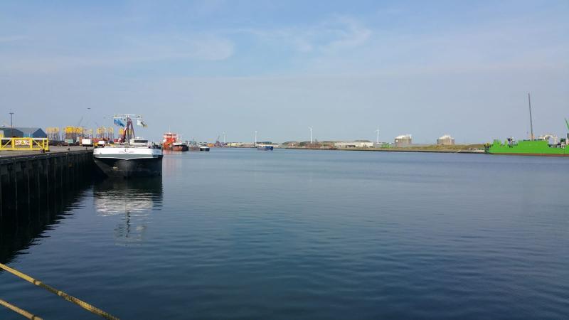 Interpretatie was in de haven van Vlissingen