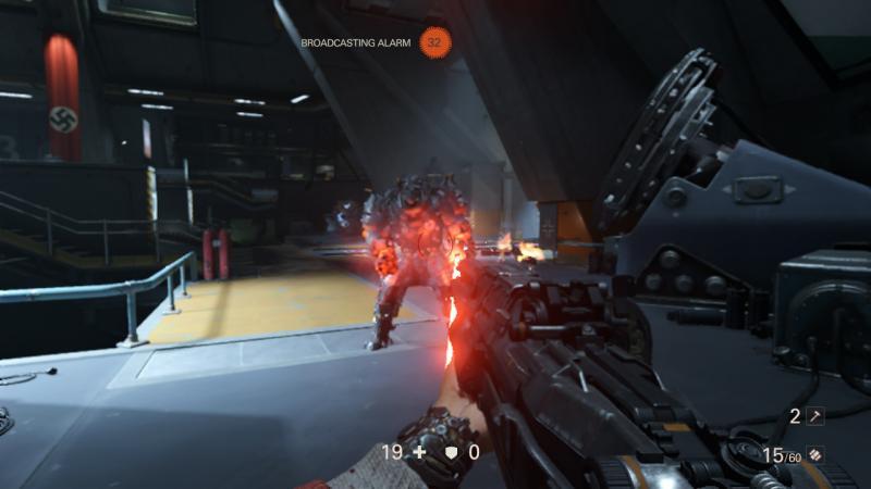 Wolfenstein switch screenshot
