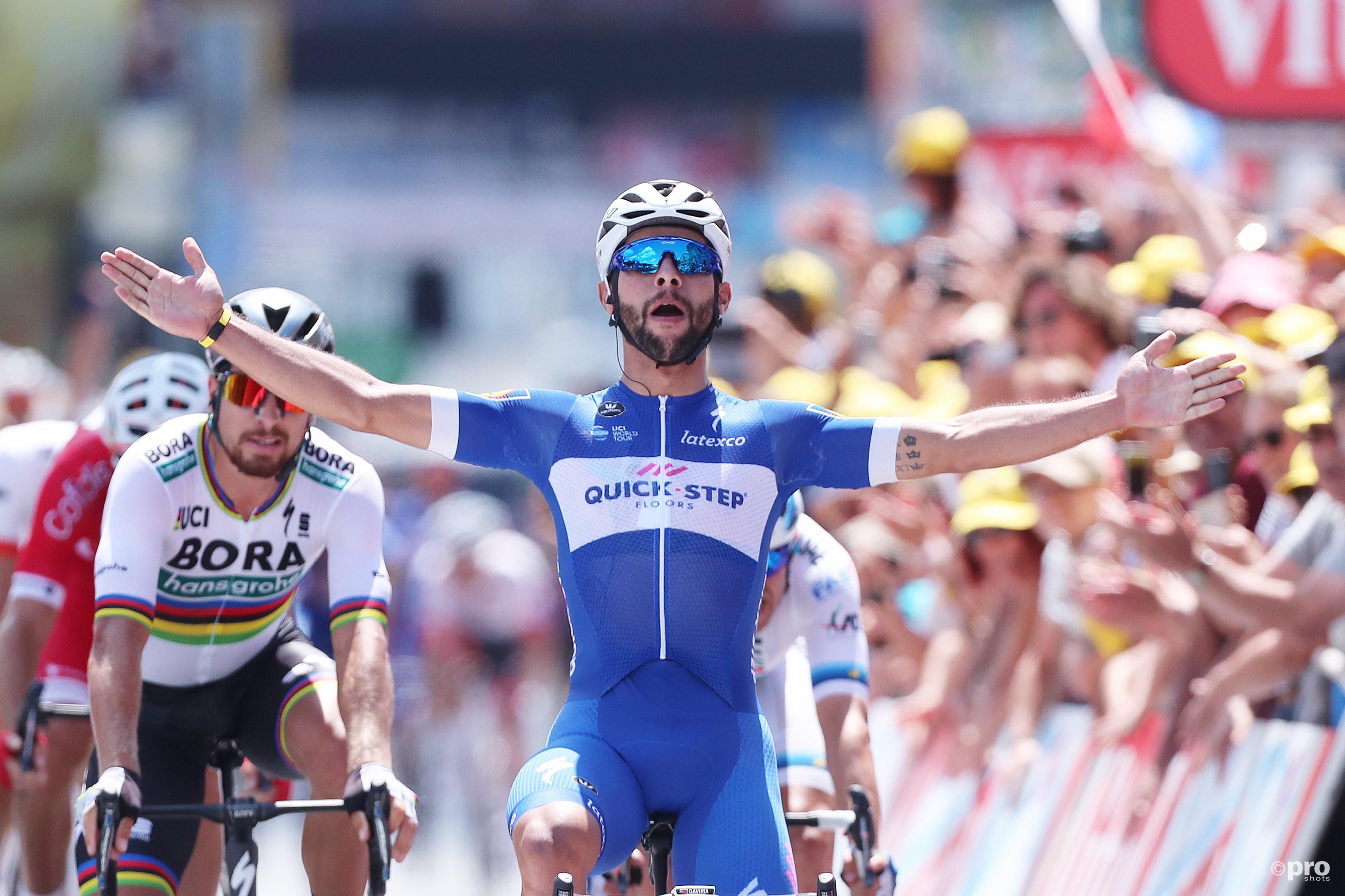Gaviria wint eerste etappe Tour de France (Pro Shots / George Deswijzen)