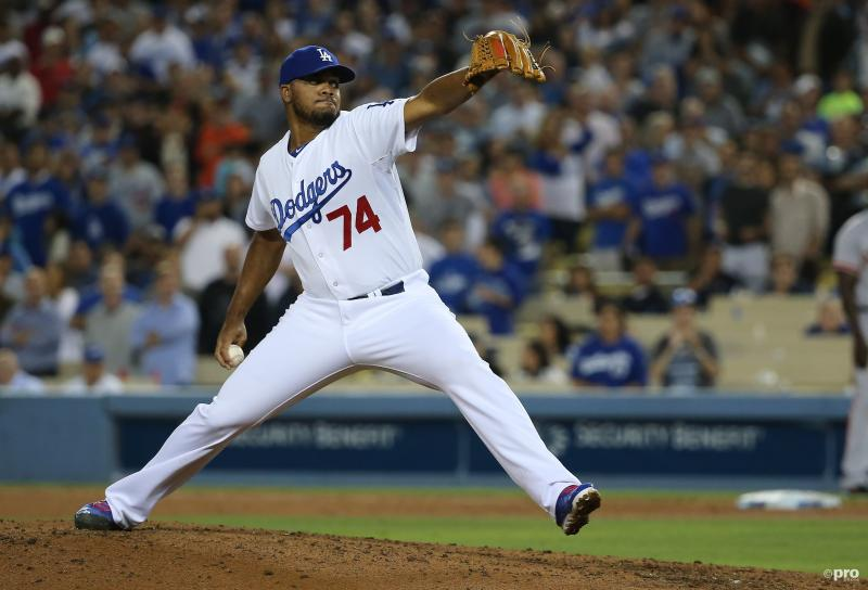 Kenley Jansen in MLB All-Star Game (Pro Shots / Zuma Sports Wire)