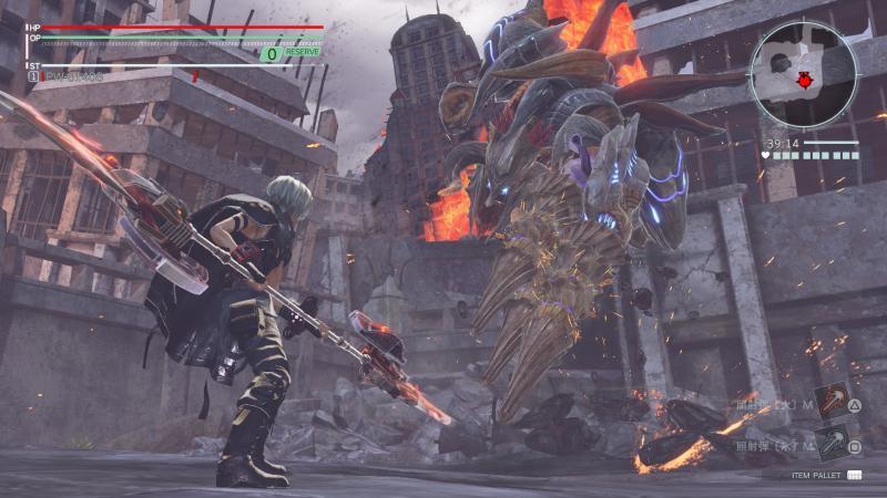 God Eater 3 - Barbarius (Foto: Bandai Namco)