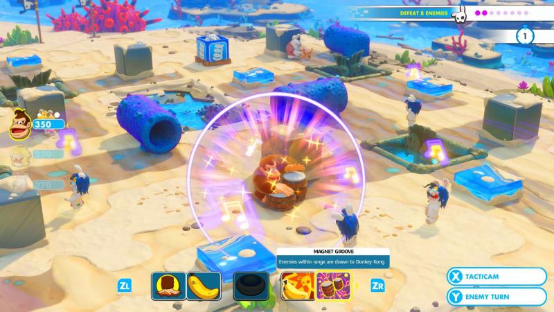 Mario + Rabbids: Kingdom Battle - Donkey Kong Adventure (Foto: Ubisoft)