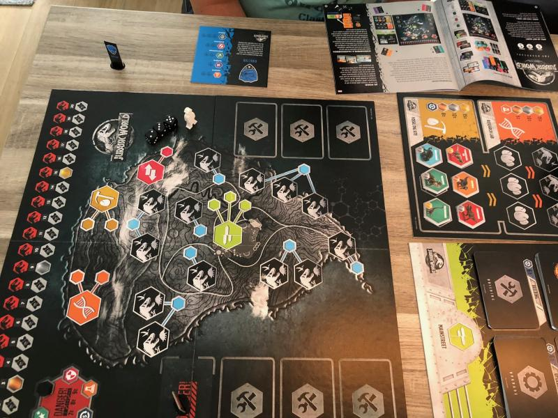 Jurassic World the Boardgame spel