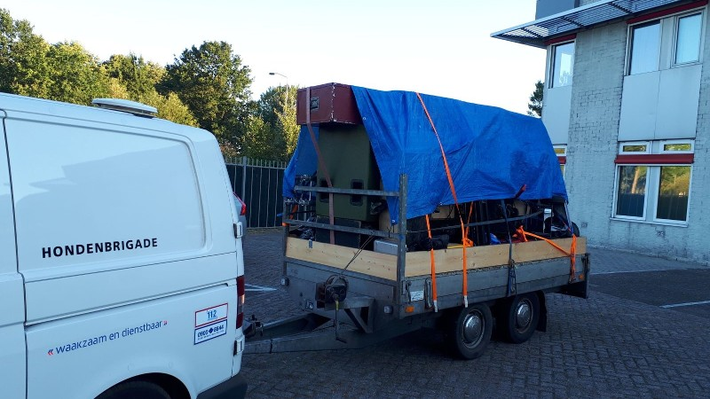 Politie beëindigt illegale housepartys (Foto politie.nl)