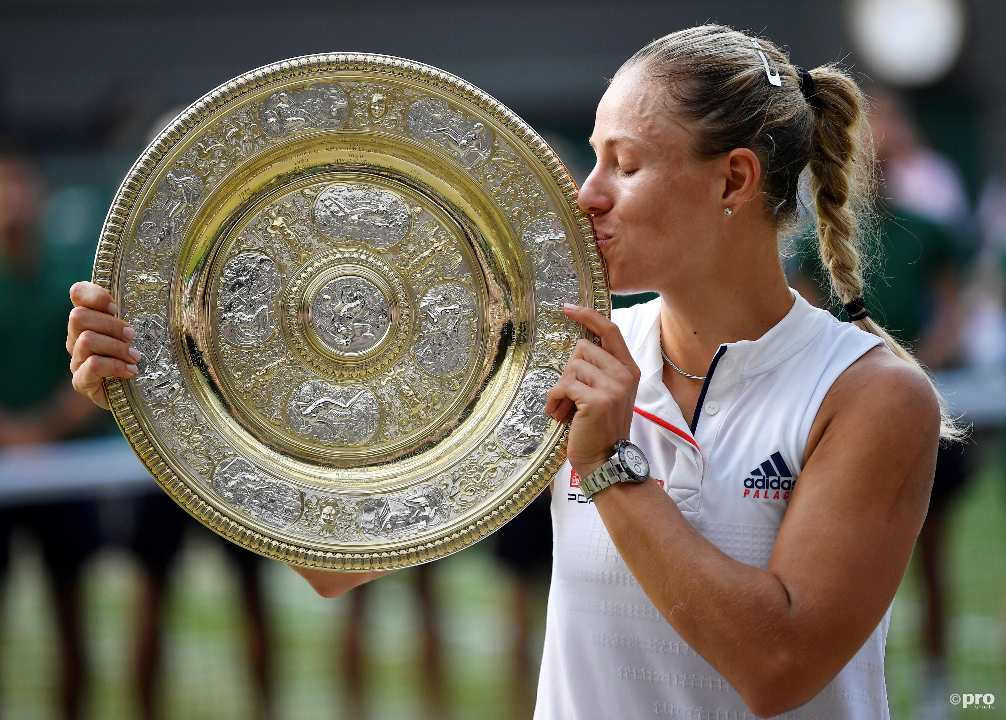 Kerber redt Duitse sportzomer. (PRO SHOTS/Action Images)