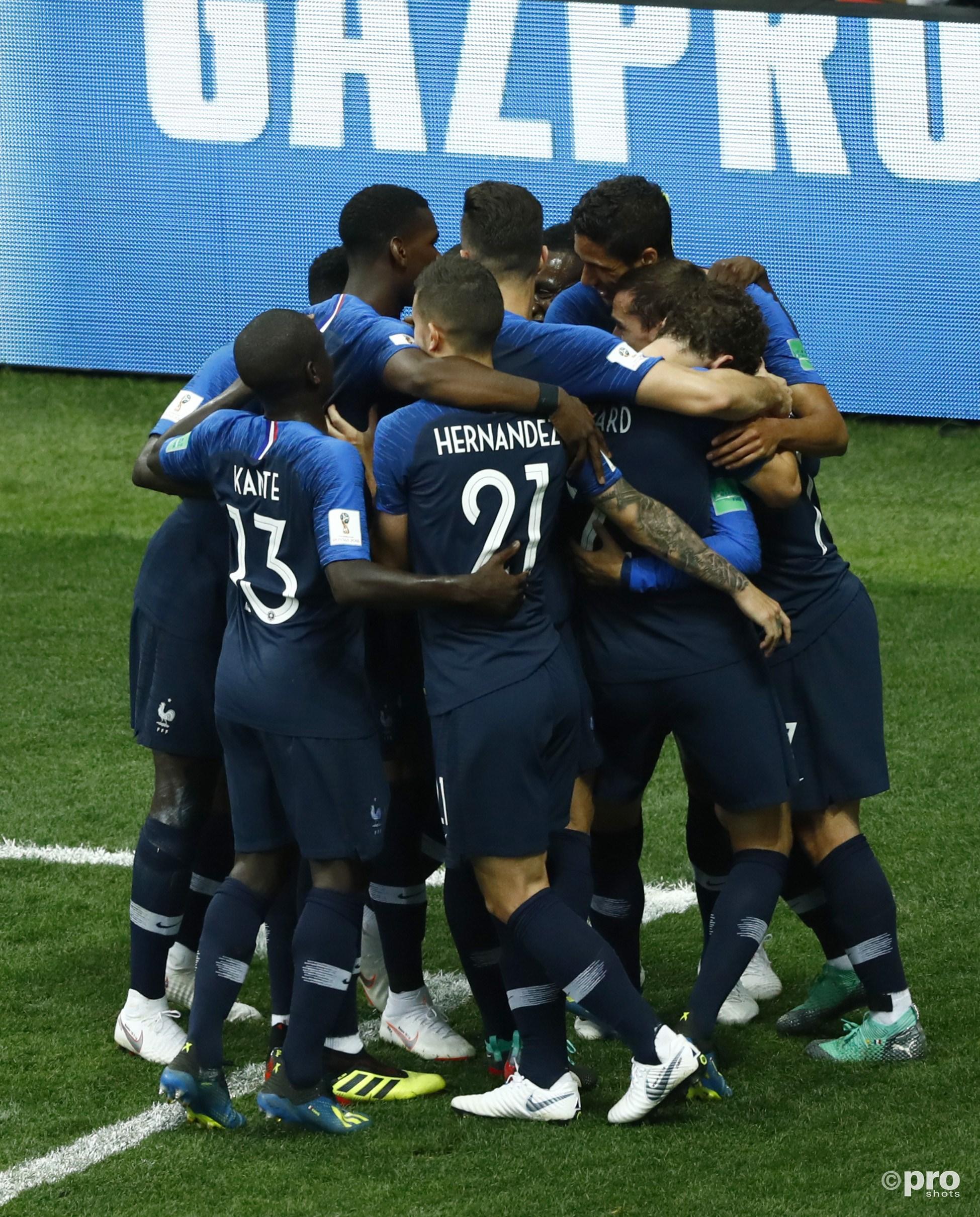 Frankrijk viert feest. (PRO SHOTS/Insidefoto)