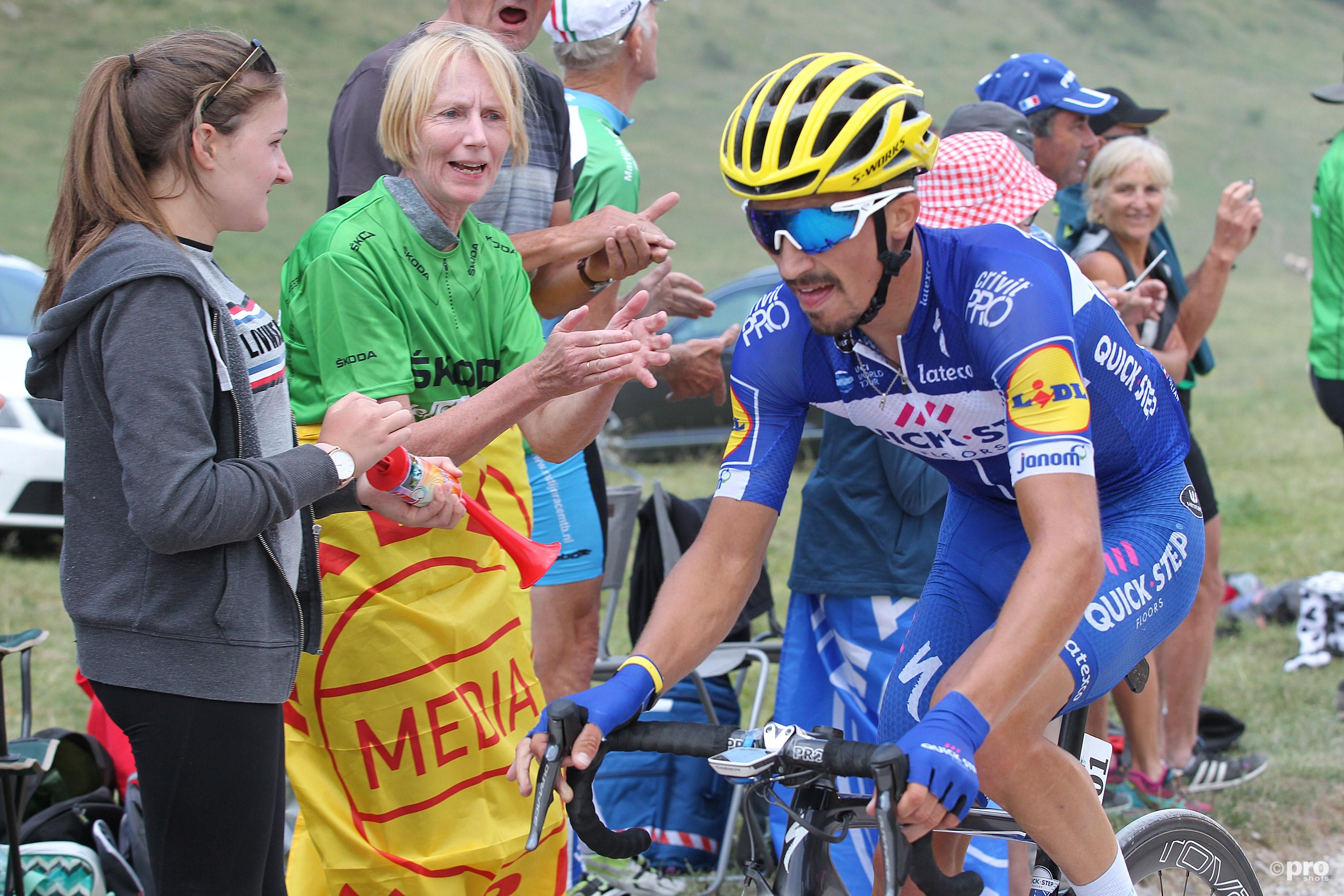 Alaphilippe wint eerste bergrit in Tour de France (Pro Shots / George Deswijzen)