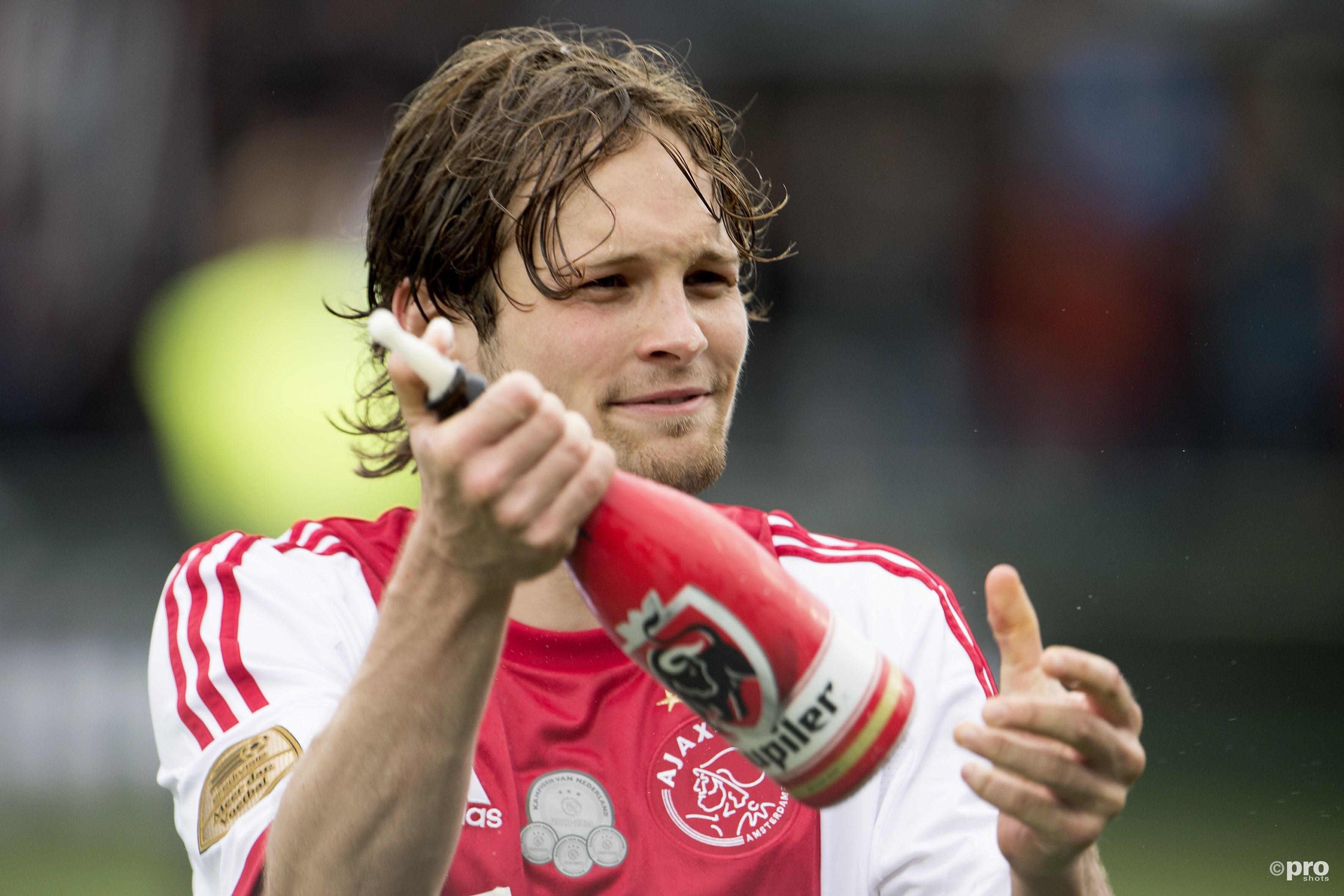 Blind terug naar Ajax