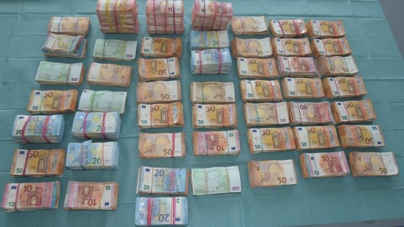 2,2 miljoen euro bij Dido Events in beslag genomen (Foto: politie.nl)