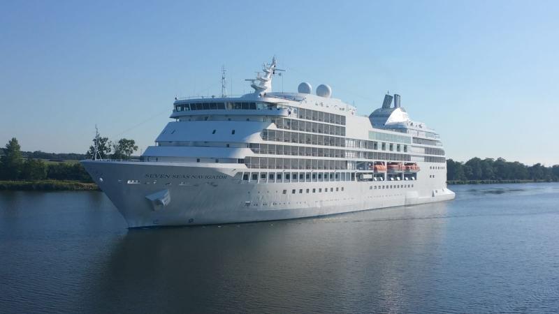 Interpretatie zit midden op zee, en spotte onze nieuwe boot  (Foto: interpretatie)