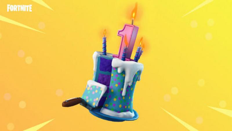 Fortnite Verjaardag