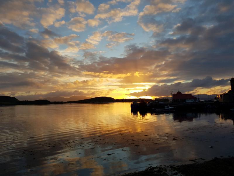 Schotland bij zonsondergang (Foto: spylacopa_68)