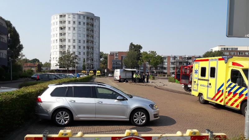 Evacuaties om mislukte plofkraak Zwijndrecht (Foto: politie.nl)