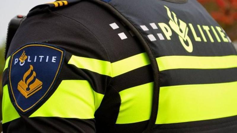 Waarschuwingsschot gelost bij aanhouding (Foto: stockfoto politie.nl)