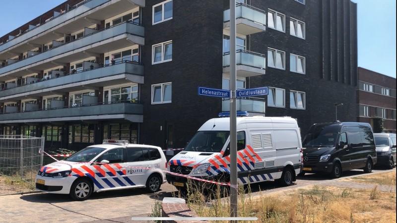 Explosie Arnhem veroorzaakt door drugsproductie (foto: Politie.nl)