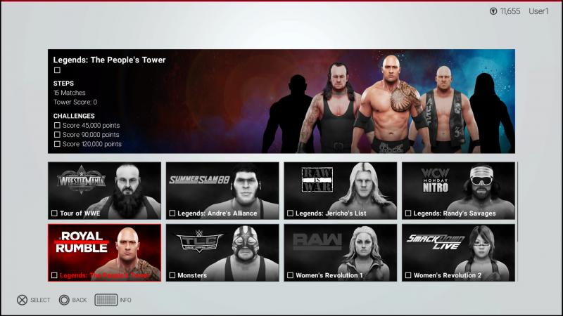 WWE 2K19 - Tower (Foto: 2K Games)