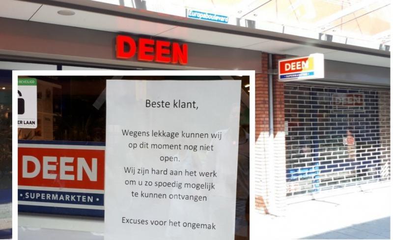 Supermarkt dicht om wateroverlast door hennepplantage (Foto: Wijkagent Bas Wijnen)