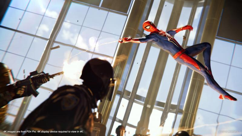 Marvel's Spider-Man - Fighting in air (Foto: Sony)
