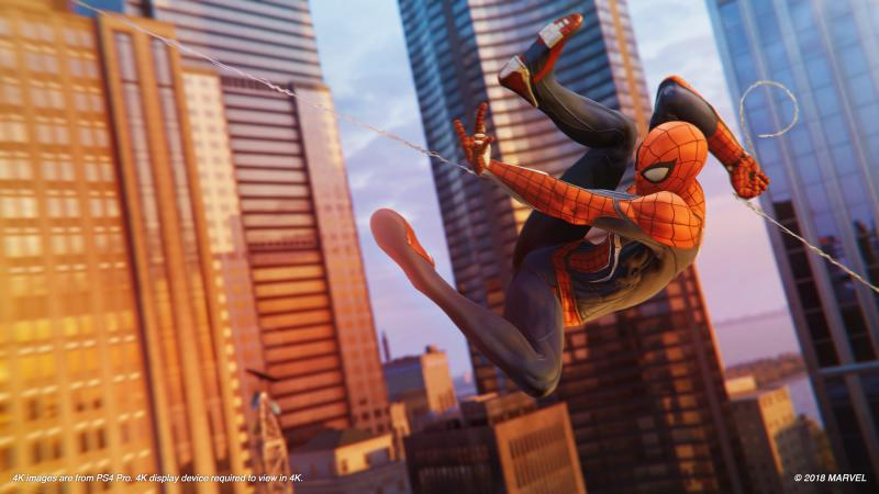 Marvel's Spider-Man - Web slinging (Foto: Sony)