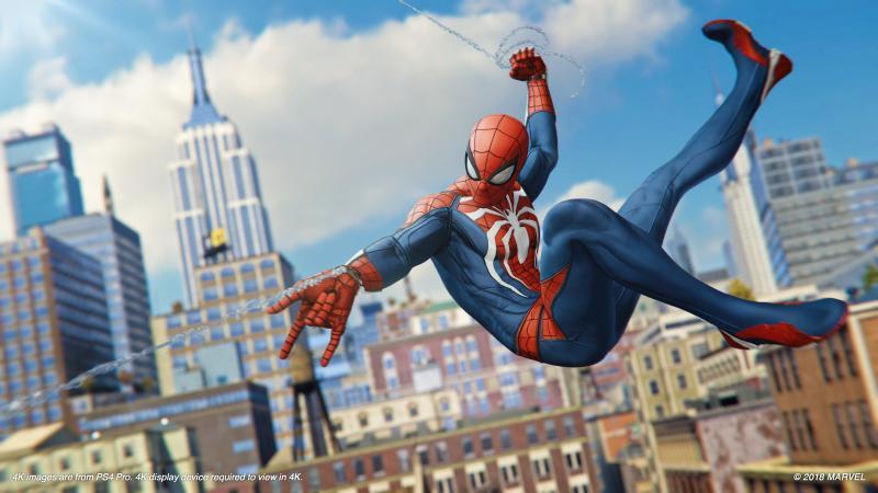 Marvel's Spider-Man - Web slinging (Foto: Sony)