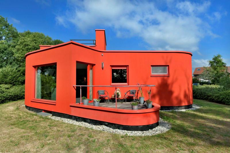 Mooi rood is niet lelijk  (Foto: Funda)