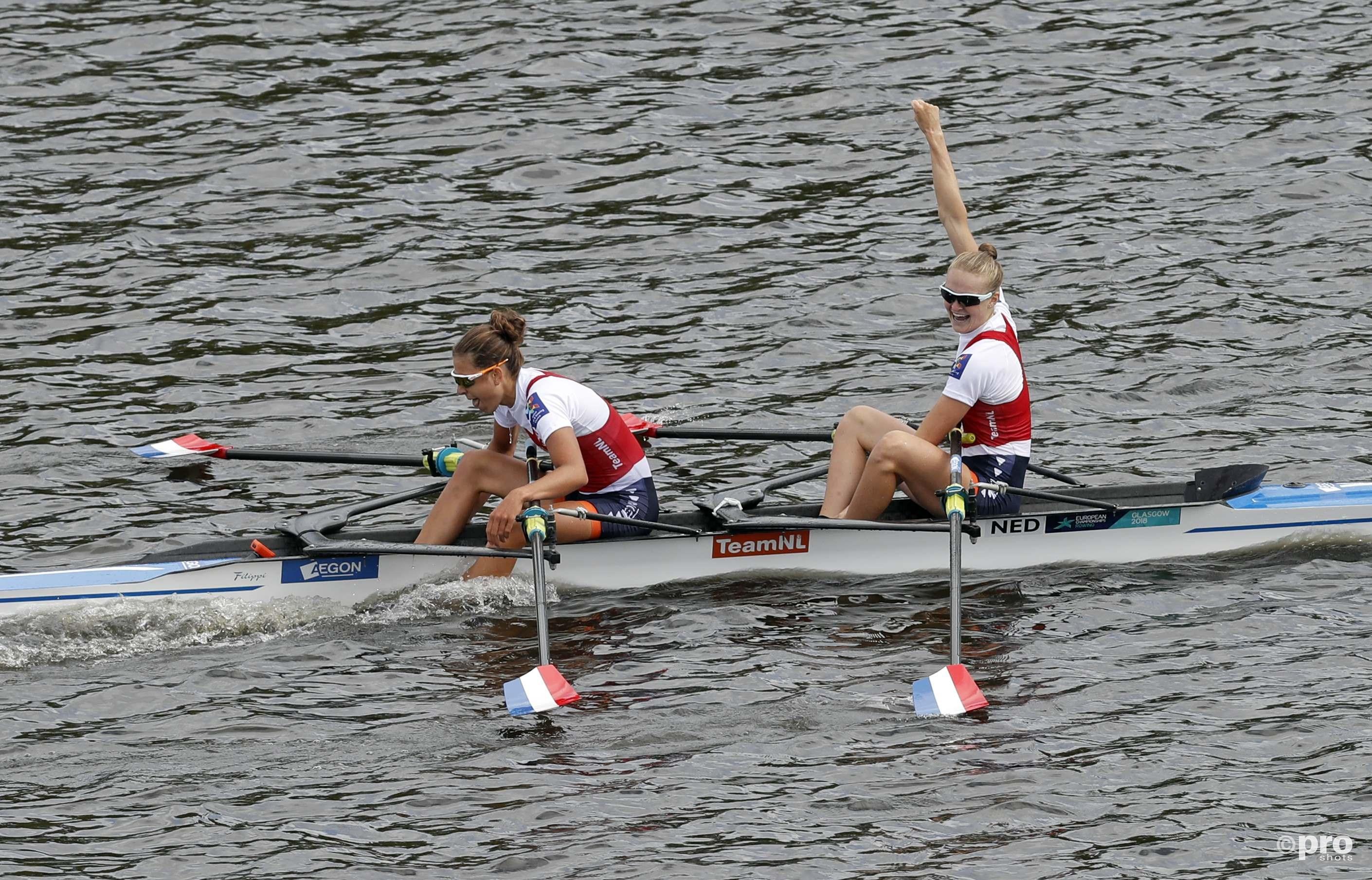 Marieke Keijser and Ilse Paulis pakken goud op het EK. (PRO SHOTS/Action Images)