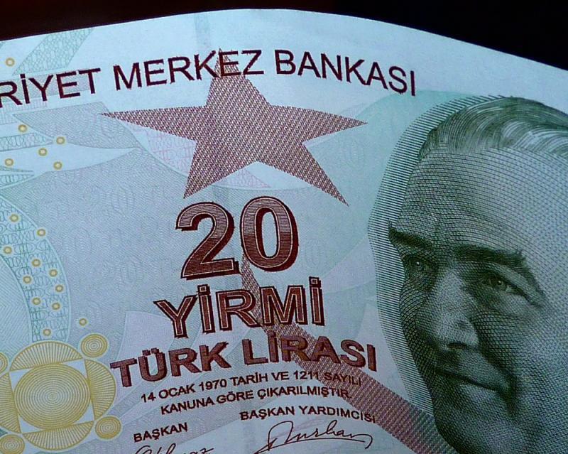 Turkse munt blijft in waarde dalen (WikiCommons/jon smith)