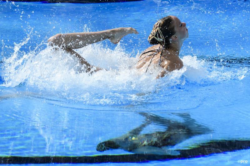 Synchroonzwemzusjes De Brouwer 8e op EK (Pro Shots / Insidefoto)