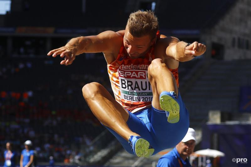 Pieter Braun in actie boven de verspringbak (Pro Shots/Action Images)