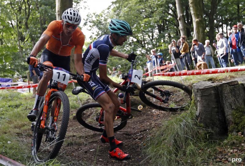 Van der Poel stapte na twee rondes af (Pro Shots / Action Images)