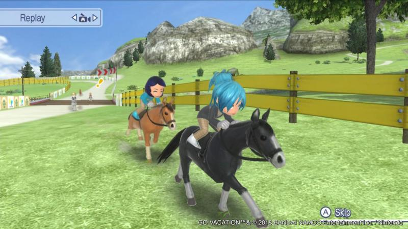 Go Vacation - Horse Riding (Foto: Bandai Namco)