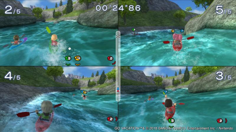 Go Vacation - Multiplayer (Foto: Bandai Namco)