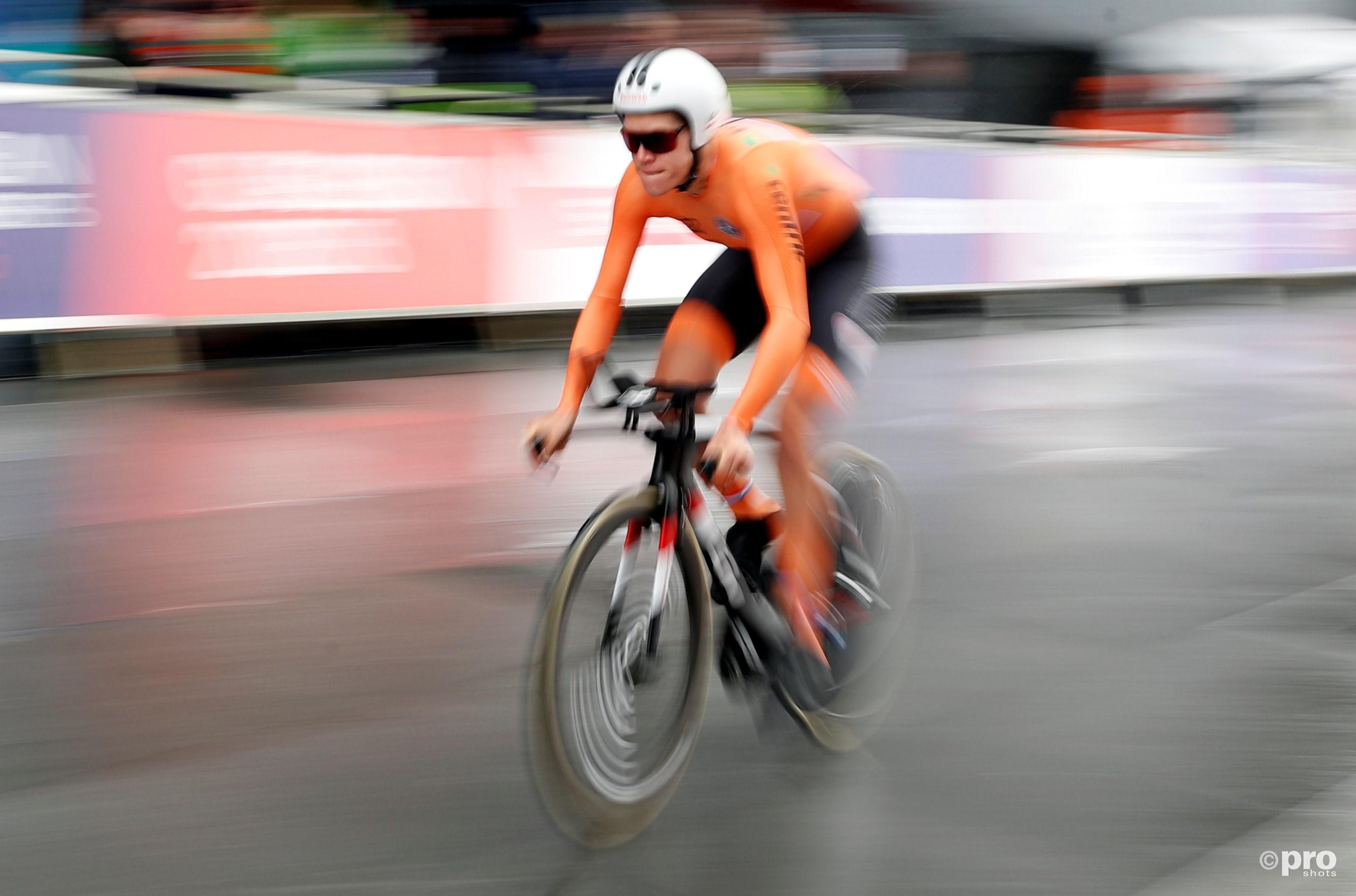 Ellen van Dijk voor derde keer Europees kampioen tijdrijden (Pro Shots / Action Images)