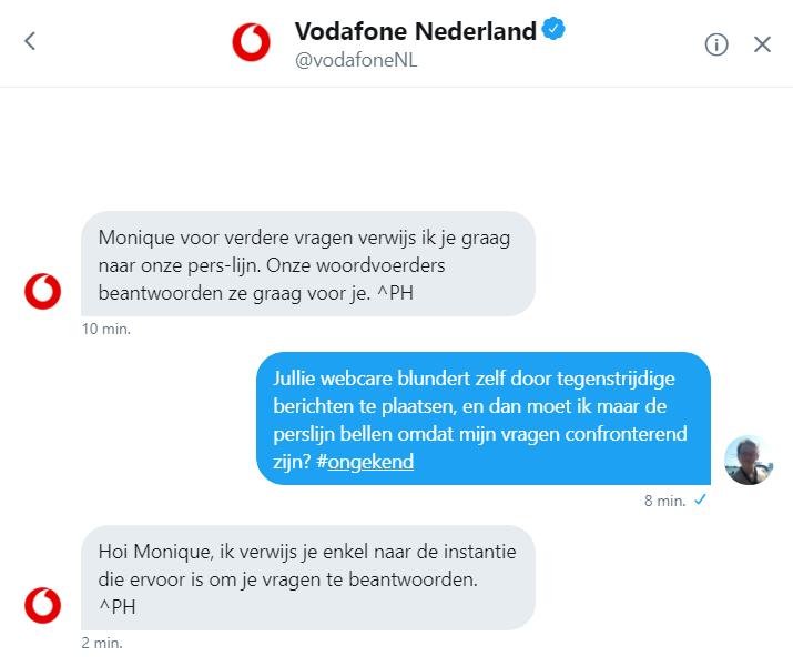 Webcare Vodafone blundert door  (Foto: DJMO)