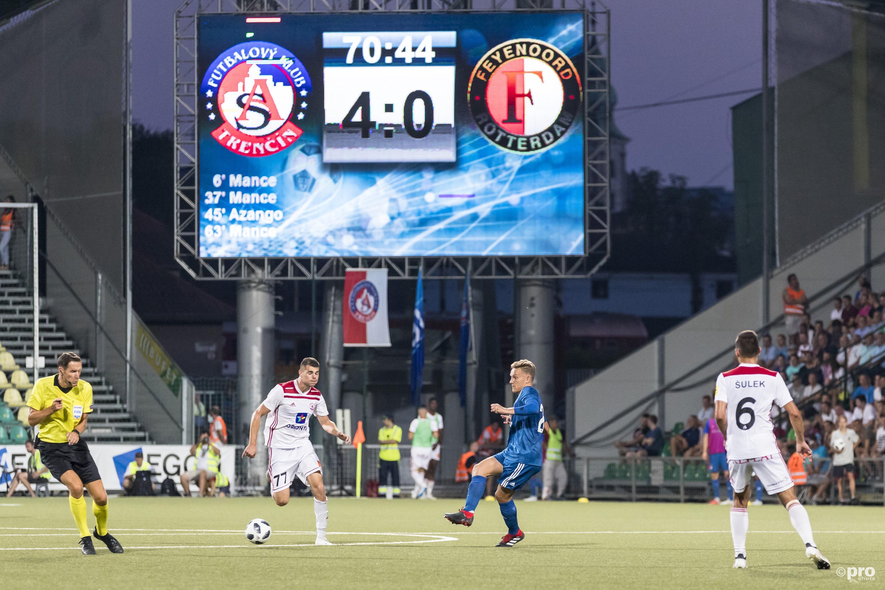Feyenoord met 4-0 onderuit tegen AS Trencin (Pro Shots / Marcel van Dorst)