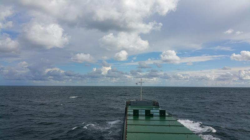 Een Hollandse lucht in het Kattegat (Foto: Interpretatie)