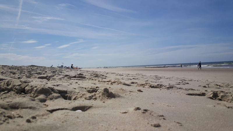 Het strand bij Tuindorp (Foto: Iteejer)