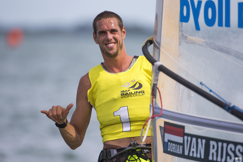 Tweede wereldtitel voor Van Rijsselberghe. (PRO SHOTS/Watersportverbond)