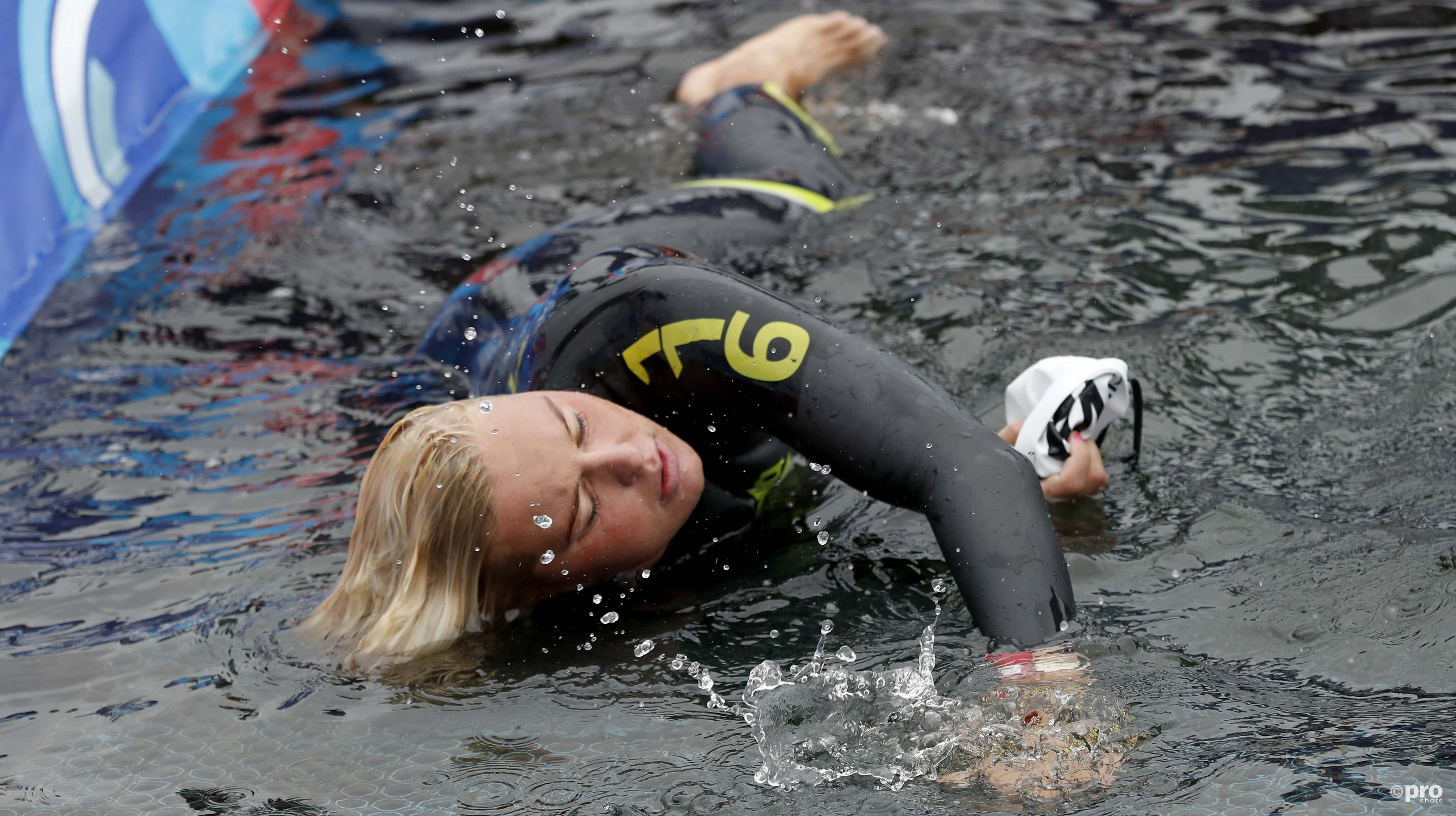 Sharon van Rouwendaal na afloop van de wedstrijd. (PRO SHOTS/Action Images)
