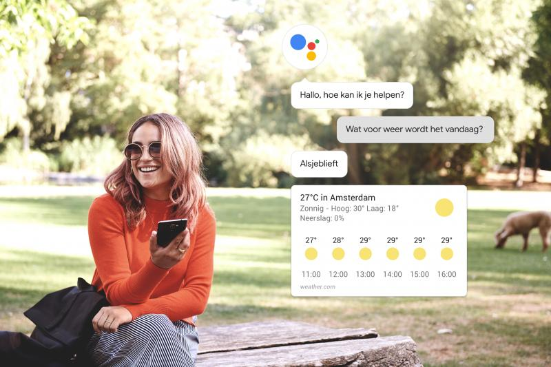 Google Assistent - Weersverwachting (Foto: Google)