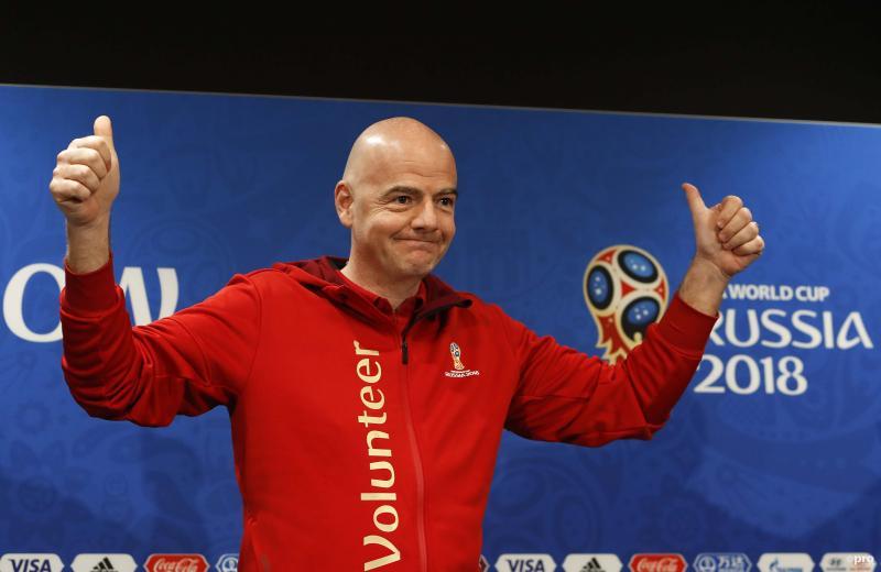 Nieuw FIFA-reglement: 'corruptie' bestaat niet, kritiek mag niet (Pro Shots / Action Images)