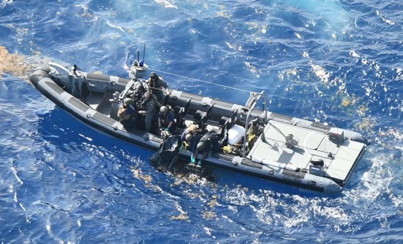 Marine onderschept ruim 400 kilo coke