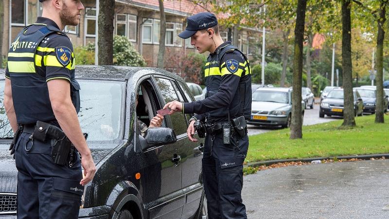 Aanhouding na dollemansrit door Rotterdam (Foto: Stockfoto politie.nl)