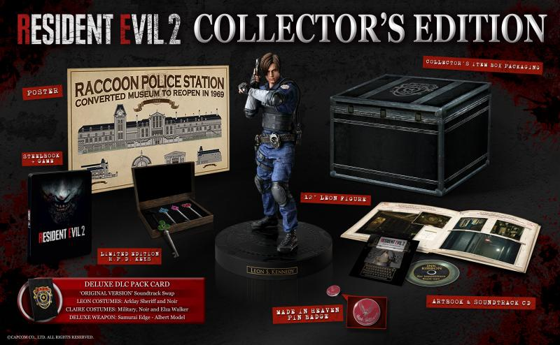 Resident Evil 2 Collectors Edition (Foto: Capcom)
