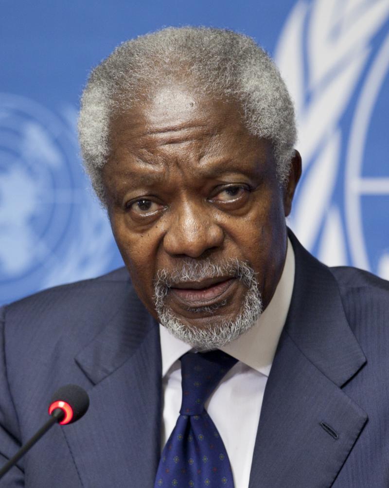 Kofi Annan (80) overleden (WikiCommons/US Mission in Geneva)