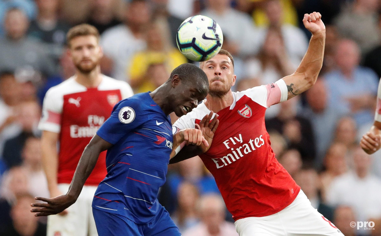 Chelsea wint van Arsenal. (PRO SHOTS/Action Images)