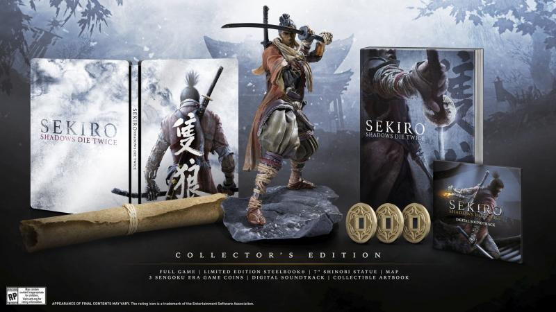 sekiro collector's edition