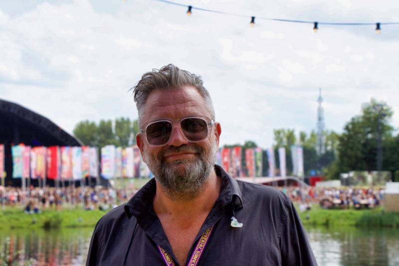 Lowlands-festivaldirecteur Eric van Eerdenburg (Foto: Peter Breuls)