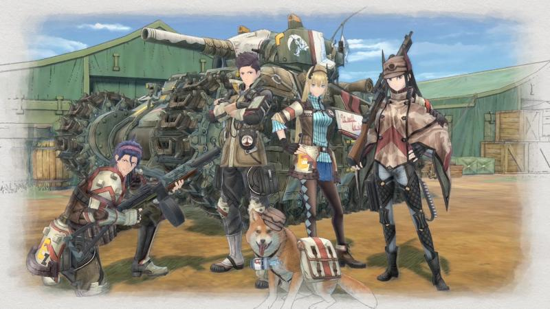 Valkyria Chronicles 4 - Team (Foto: Sega)